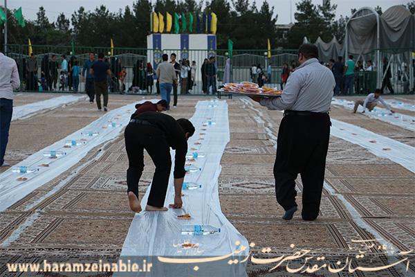 سفره کرم امام حسن مجتبی