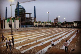 15 هزار افطاری در حرم حضرت زینب (س)
